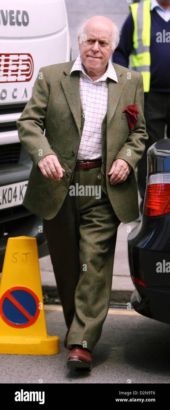 Schauspieler Clive Swift auf festgesetzt Historiker \