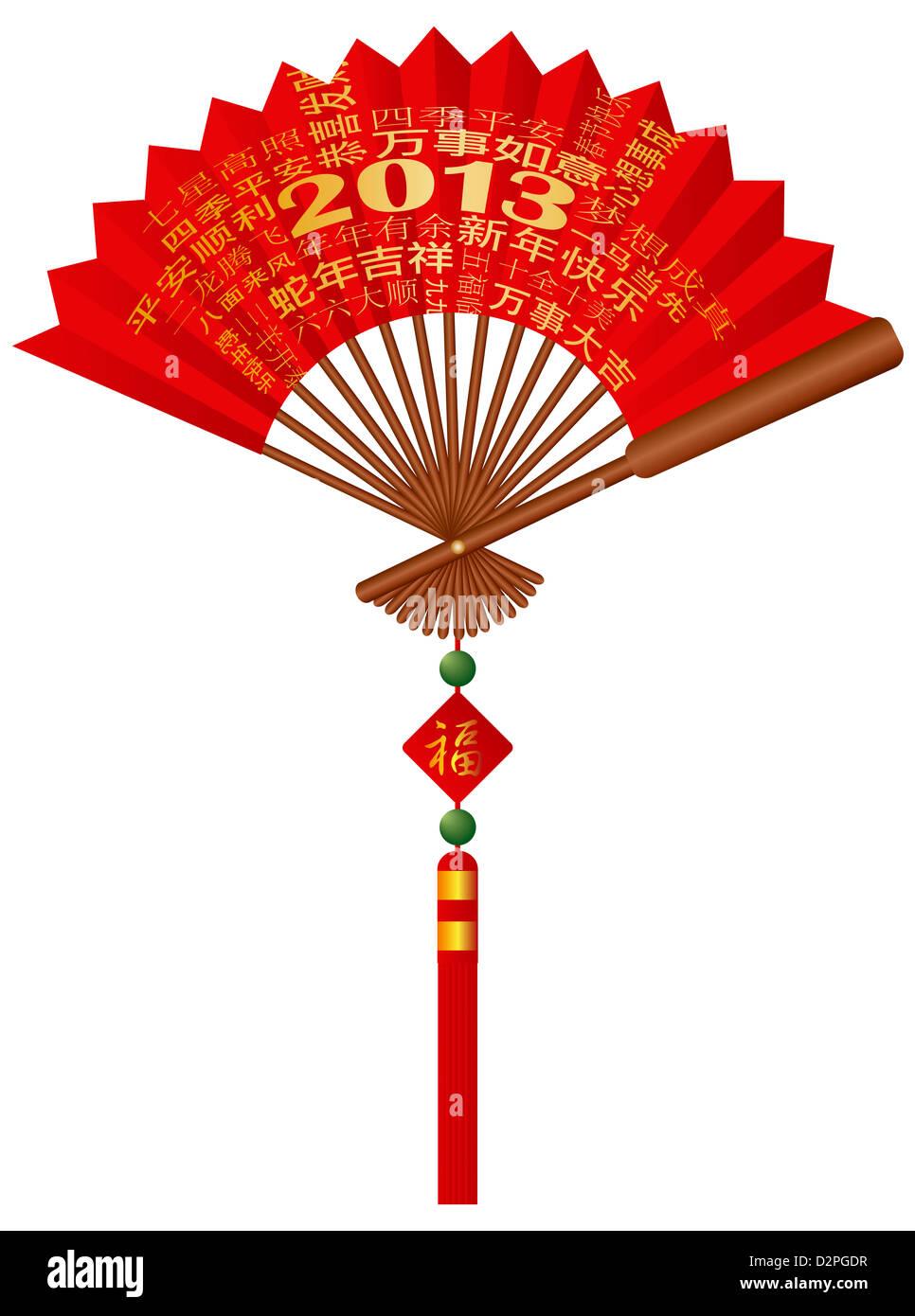 Chinesisches Neujahr 2013 Kalligraphie Genesungswünsche und Grüße ...