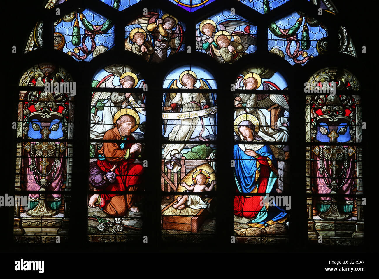 stained glass window stockfotos stained glass window bilder alamy. Black Bedroom Furniture Sets. Home Design Ideas