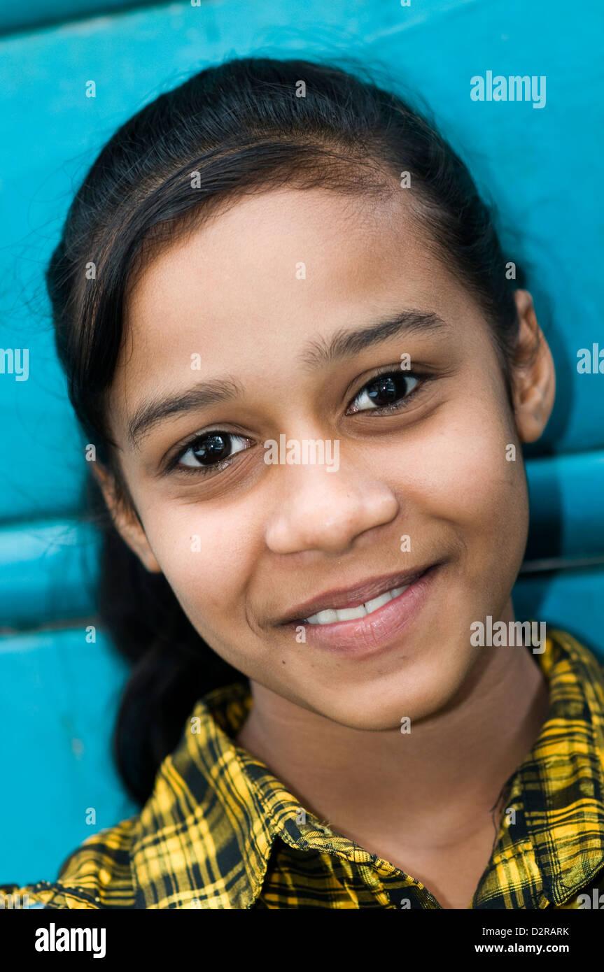 Mädchen von Mauritius