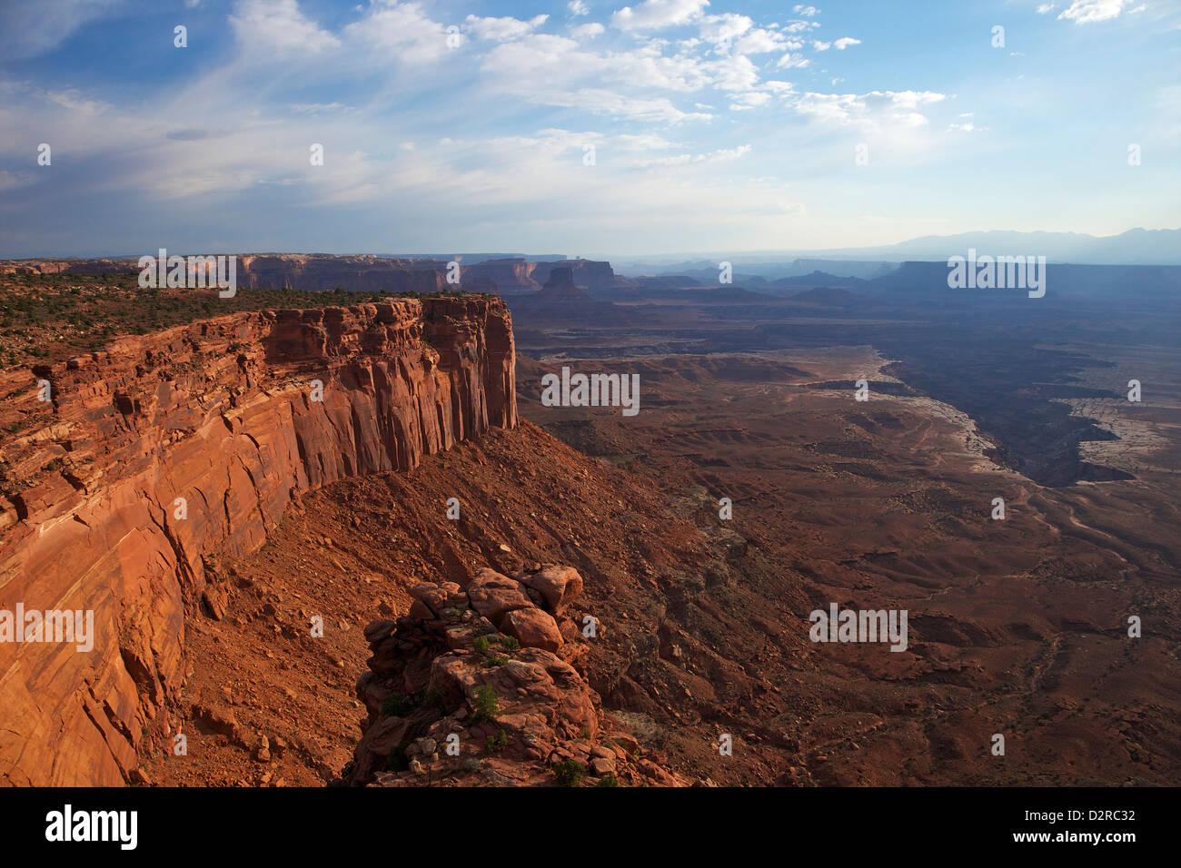 Buck Canyon Viewpoint, Canyonlands National Park, Utah, Vereinigte Staaten von Amerika, Nordamerika Stockbild