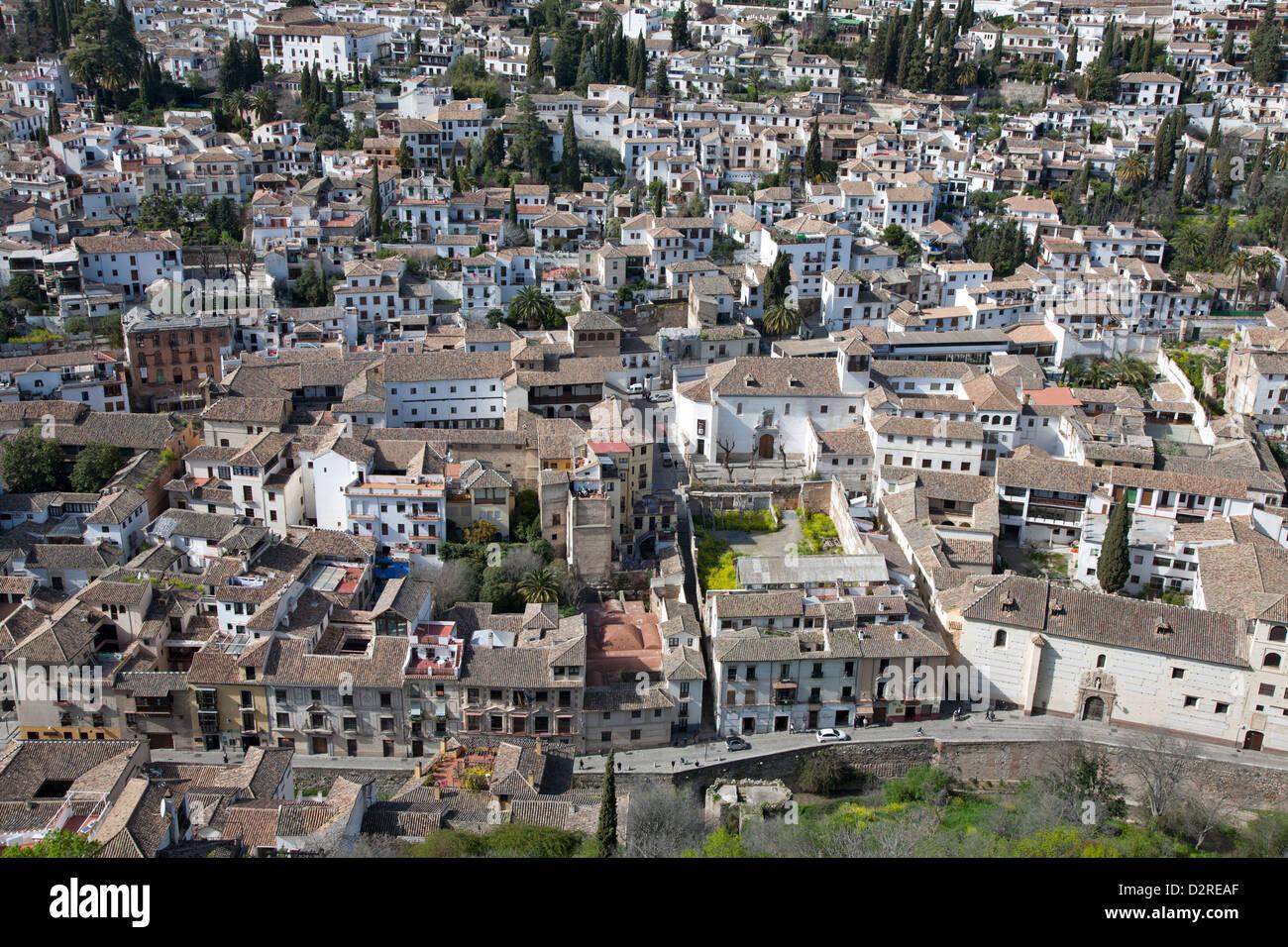 Mediterrane Architektur die stadt granada und seine mediterrane architektur angesehen