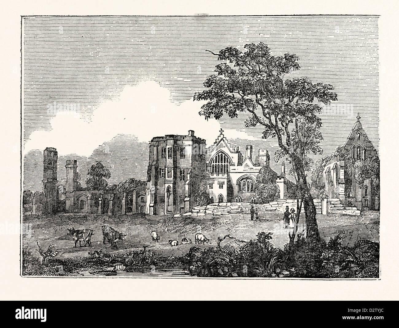 Battle Abbey Sussex Stockbild