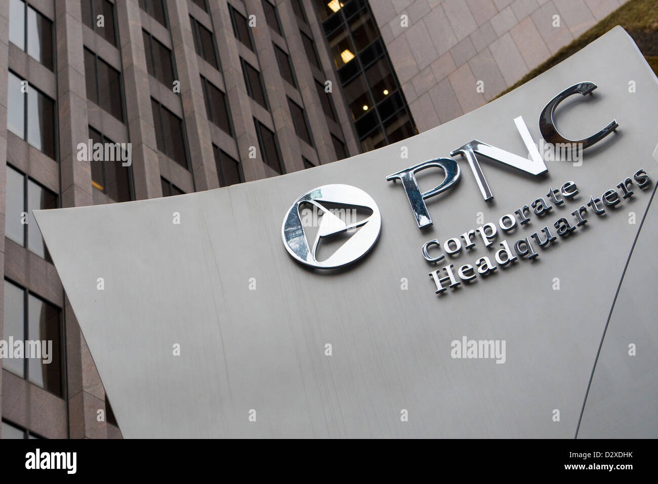 Das Hauptquartier der PNC Financial Services Group, Inc. Stockbild