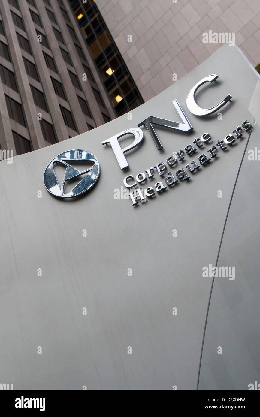Das Hauptquartier der PNC Financial Services Group, Inc. Stockbild