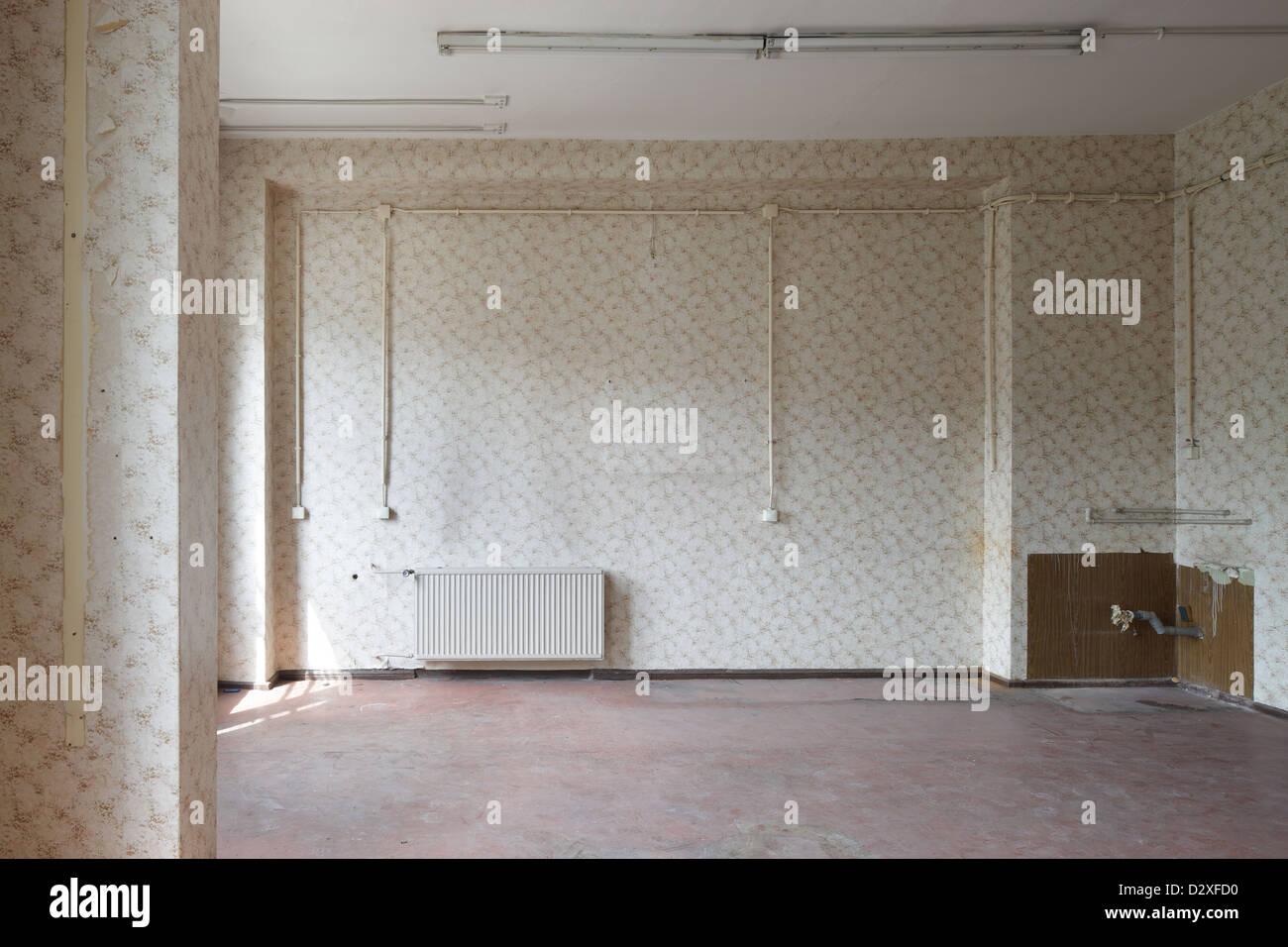 Berlin, Deutschland, ist ein leerer Raum in einem Loft in Berlin ...