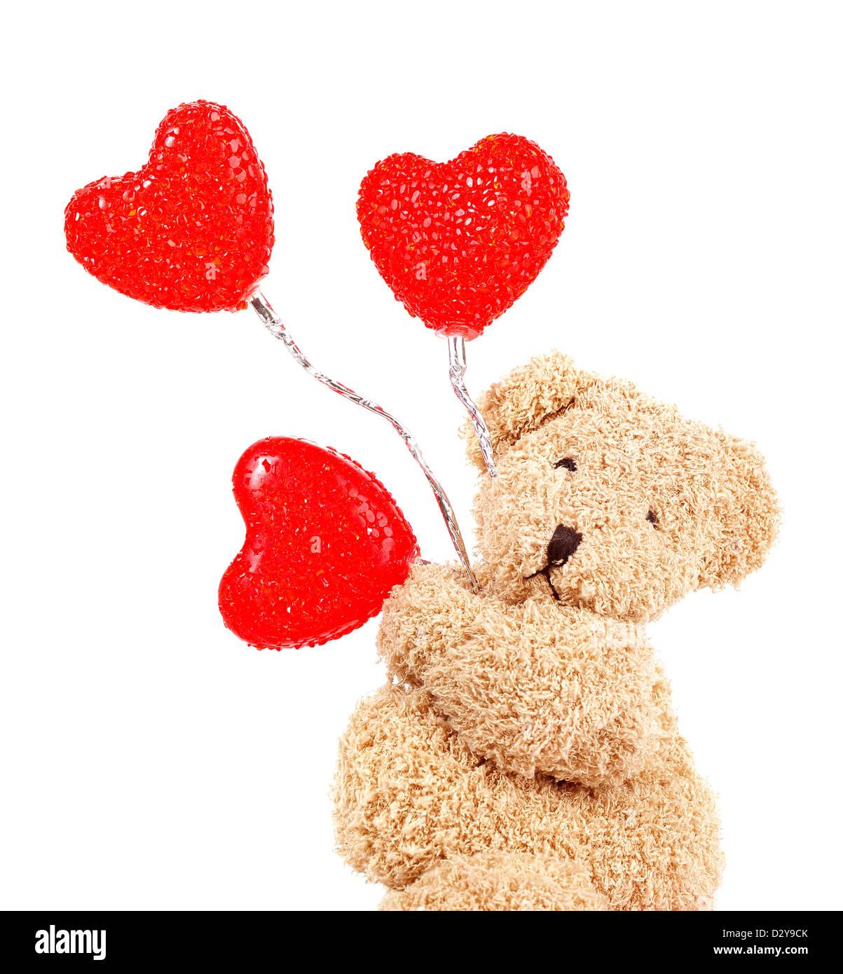 Teddy Heart Balloons Stockfotos & Teddy Heart Balloons Bilder - Alamy