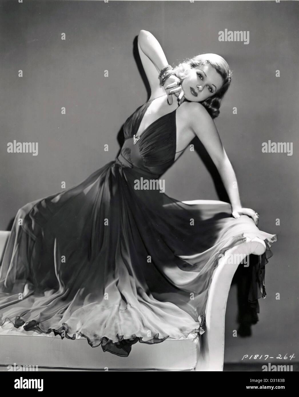 Joan Bennett Stockbild