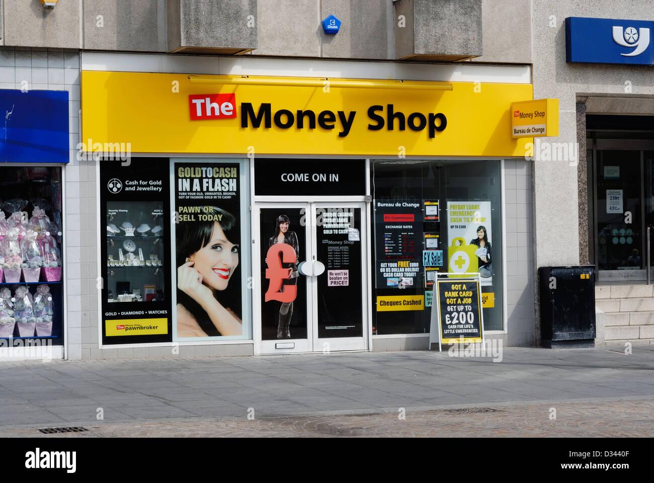 Die geld shop in blackpool lancashire bietet western union und