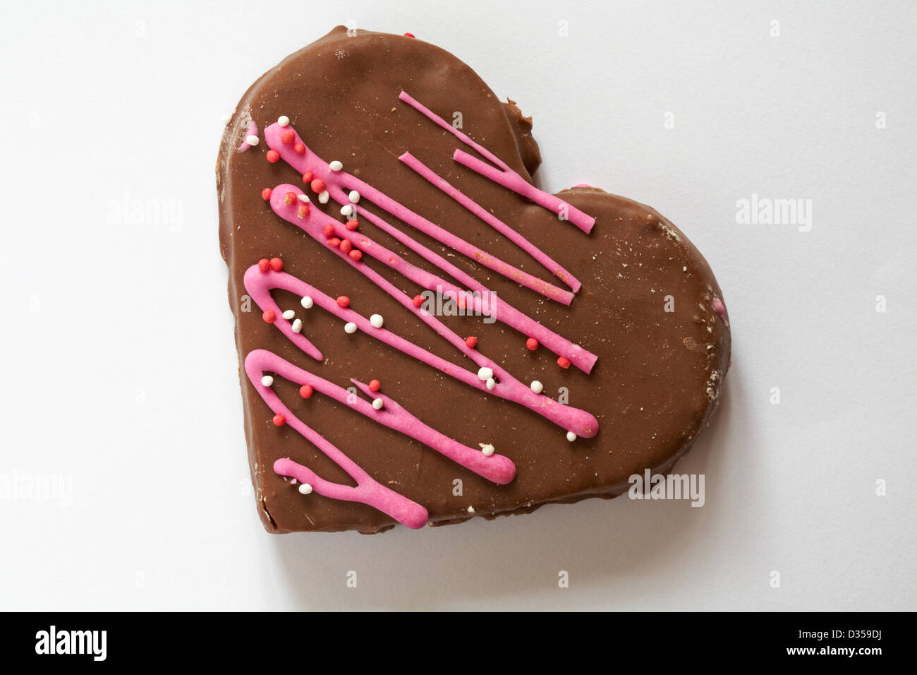 Valentinstag Schokolade Herz Kuchen Kuchen In Herzform Auf Weissem