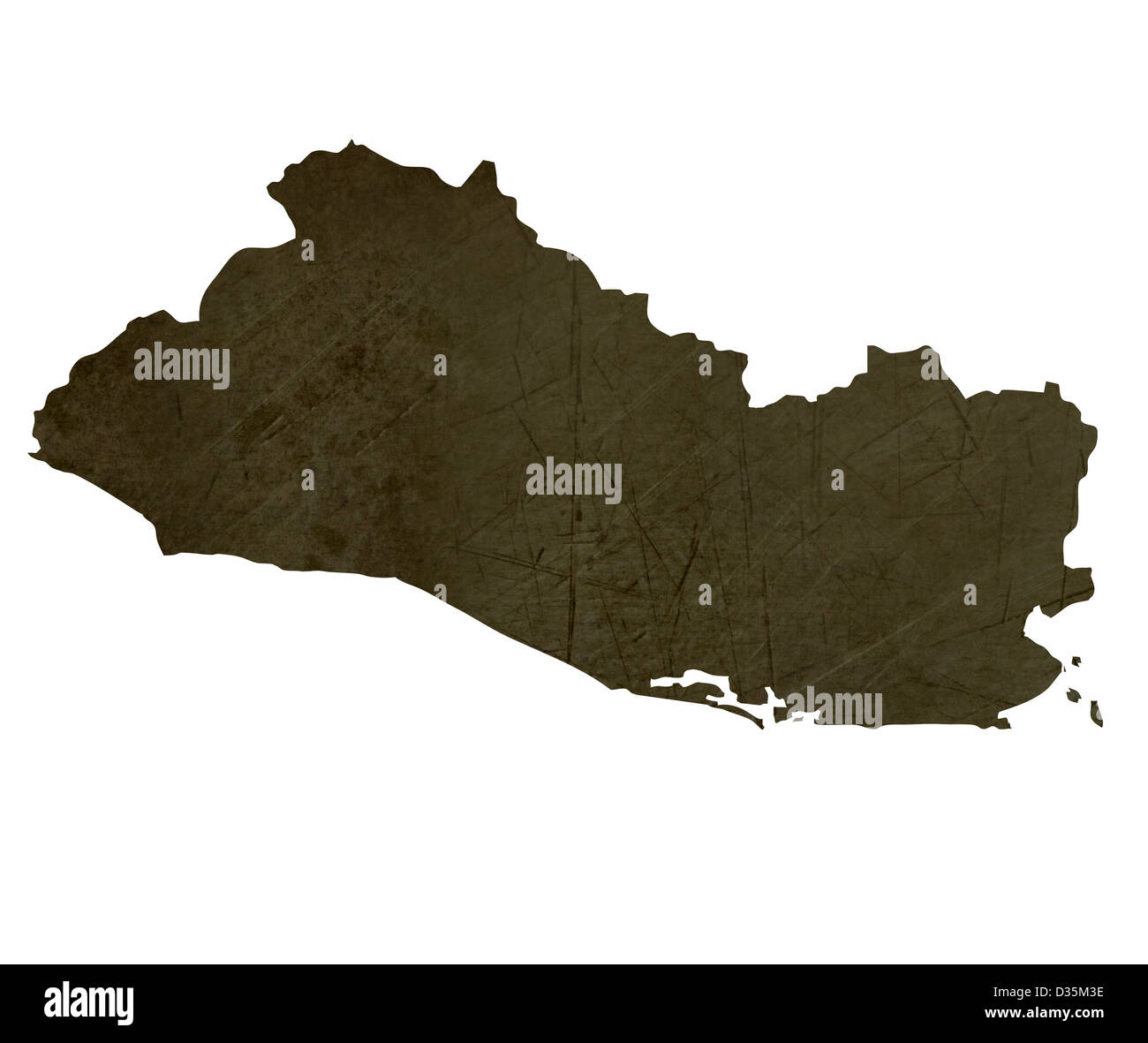 Map Of El Salvador Stockfotos & Map Of El Salvador Bilder - Alamy