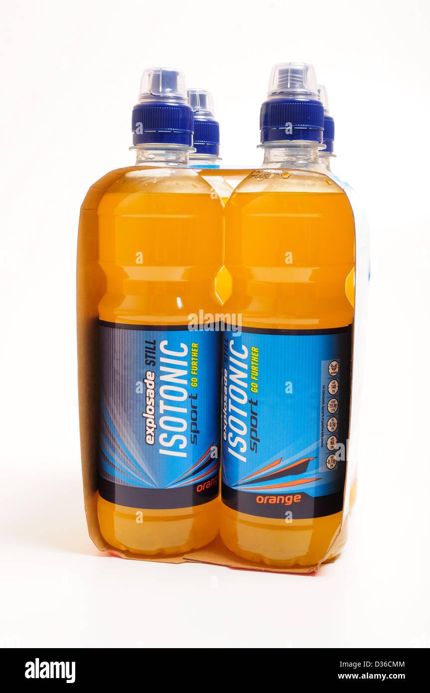 Explosade noch isotonische Sport Drinks.Aldi Eigenmarke Stockfoto ...