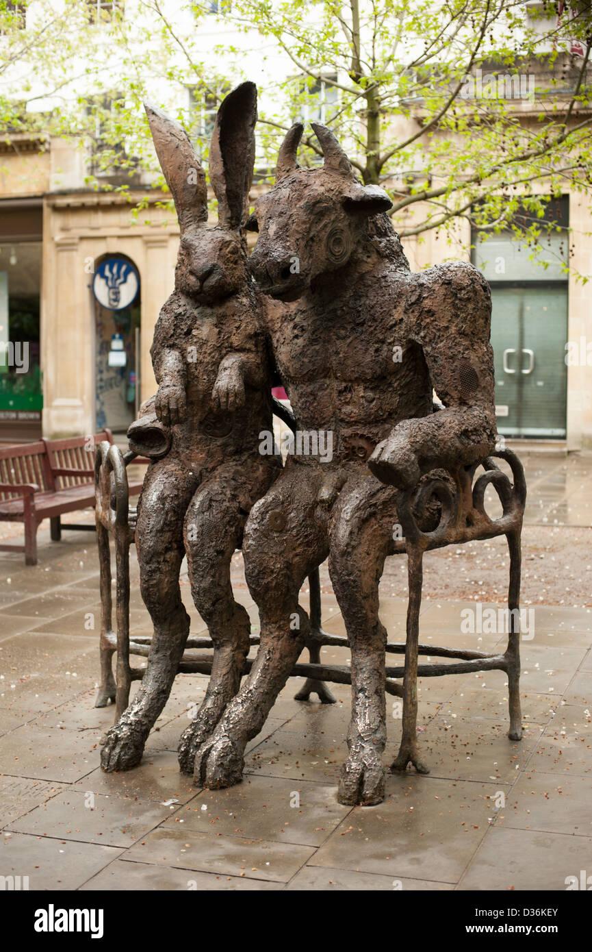 Minotaur Sculpture Stockfotos & Minotaur Sculpture Bilder - Alamy
