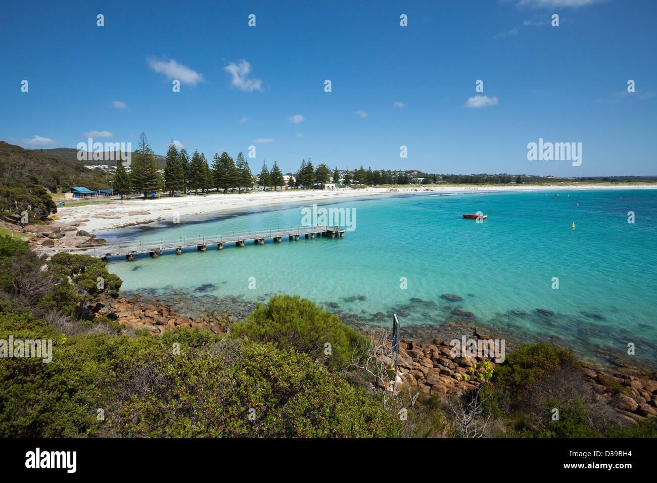 Middleton Beach, Albany, Western Australia, Australien Stockbild
