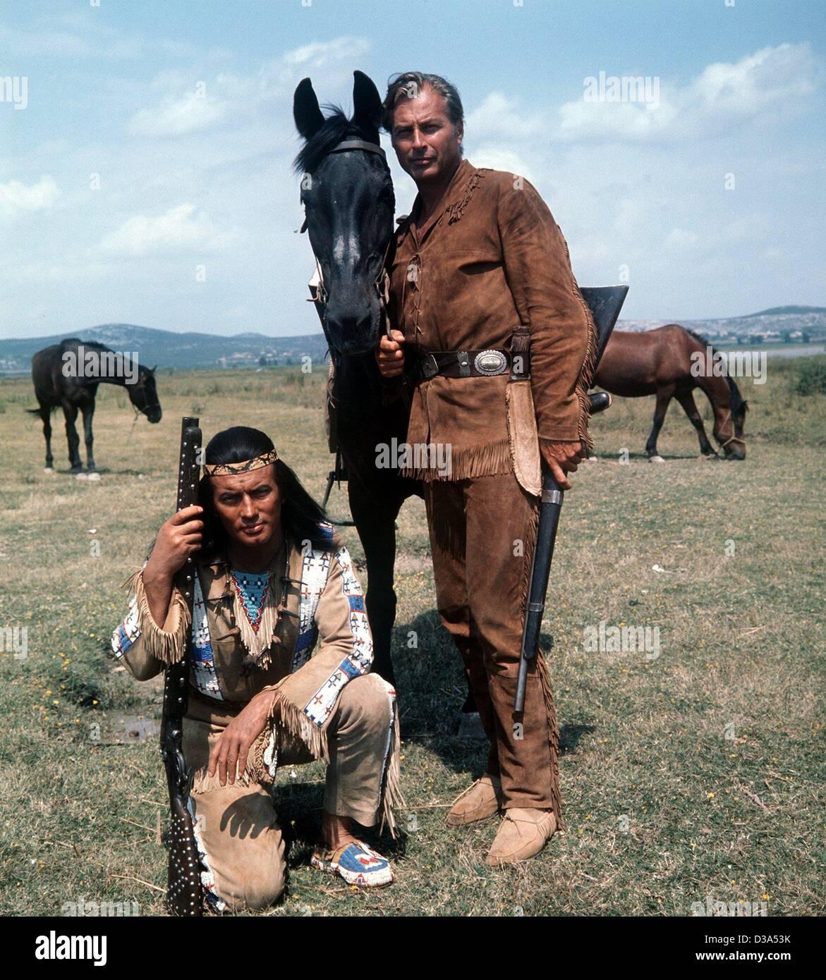 Dpa Winnetou Pierre Brice L Leiter Der Apachen Und Seinem