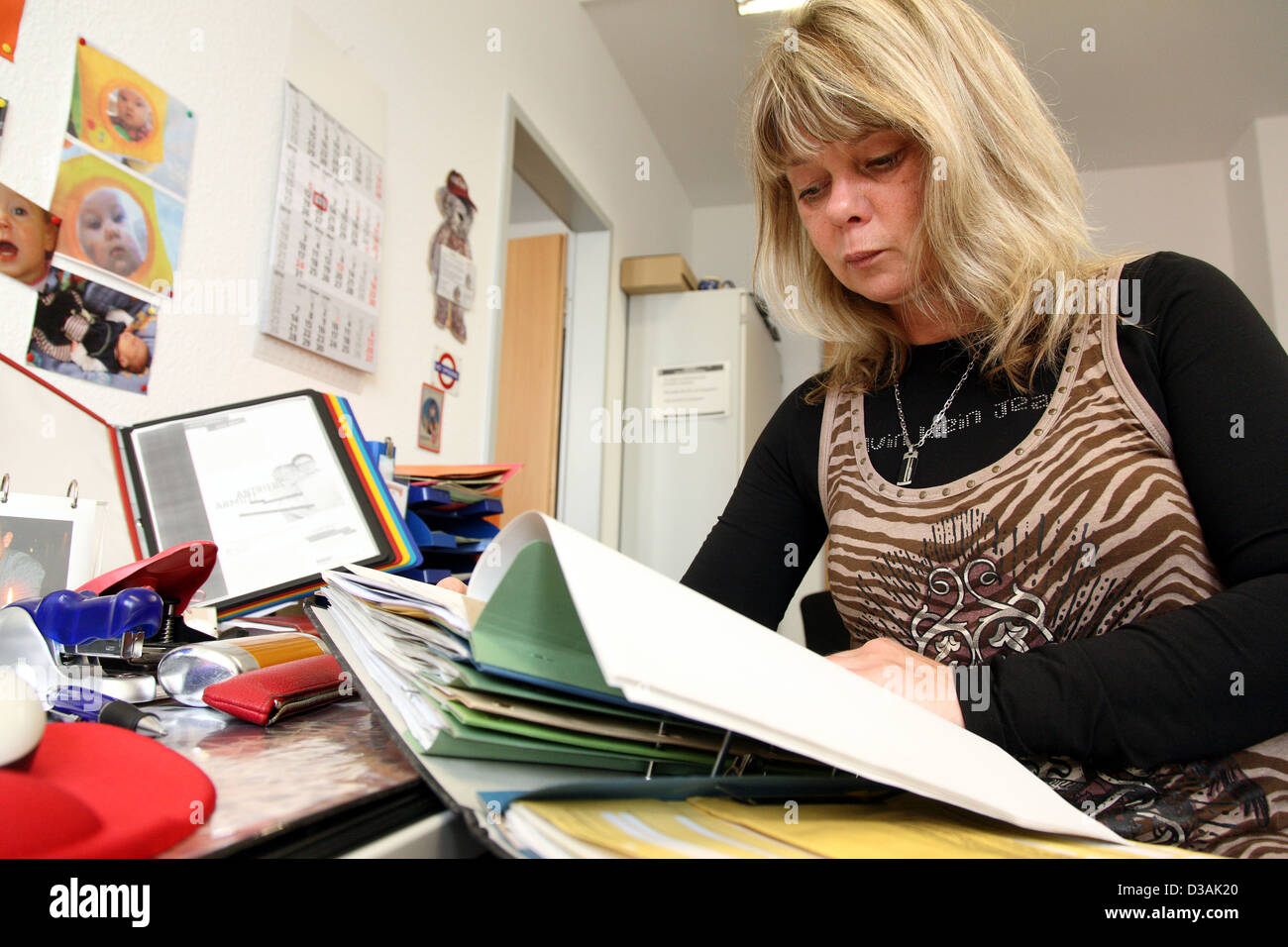 Berlin Deutschland Fallmanager Bei Der Job Center Ihre Dateien In