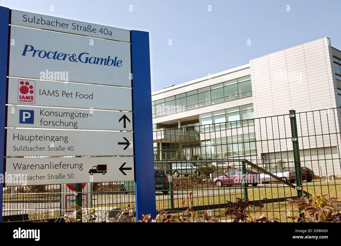 Dpa Das Deutsche Hauptquartier Der Us Konsumgüter Gruppe Procter