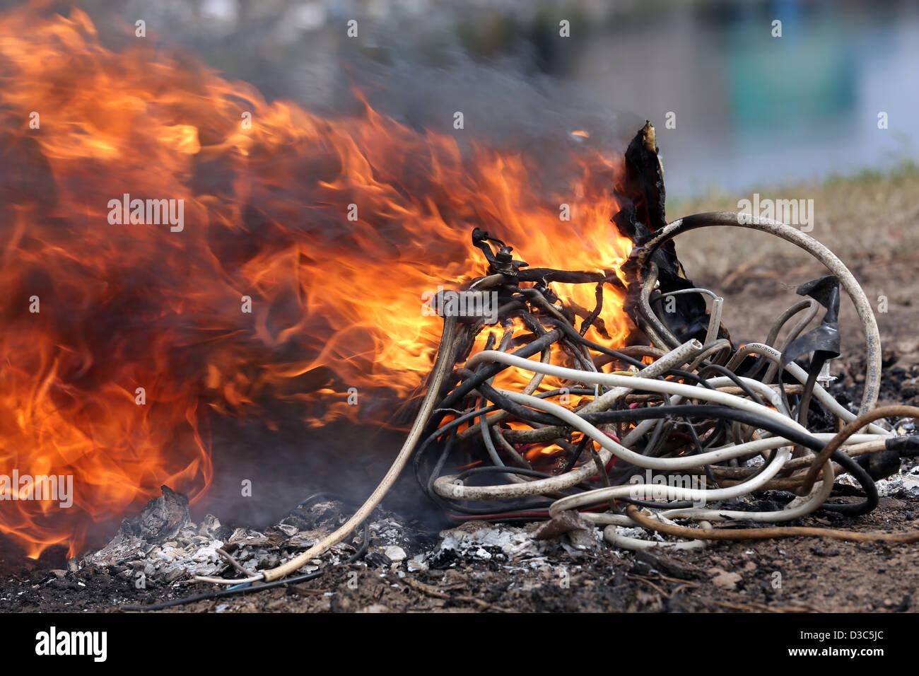 Electronic Waste Africa Stockfotos & Electronic Waste Africa Bilder ...