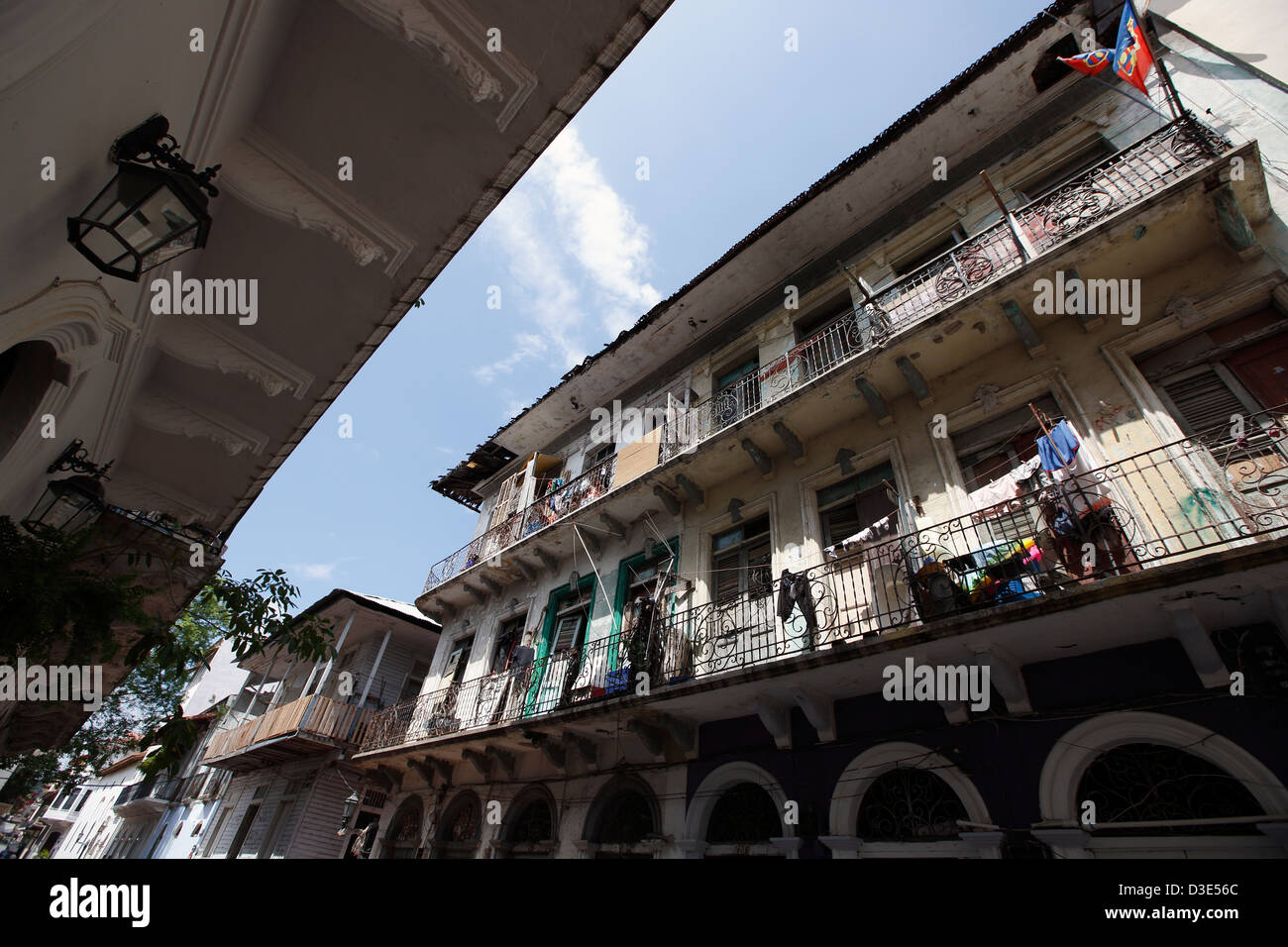 Casco Viejo, Panama City, Panama Stockbild