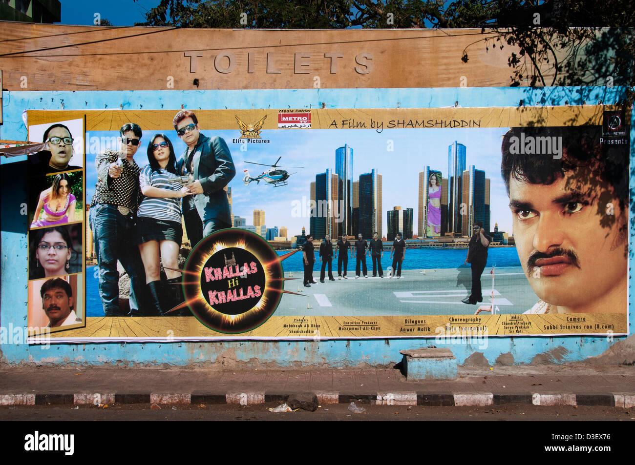 Khallas film Hallo Kallas durch Shamshuddin Bollywood Mumbai Indien Film Film Bilder Filme Stockbild