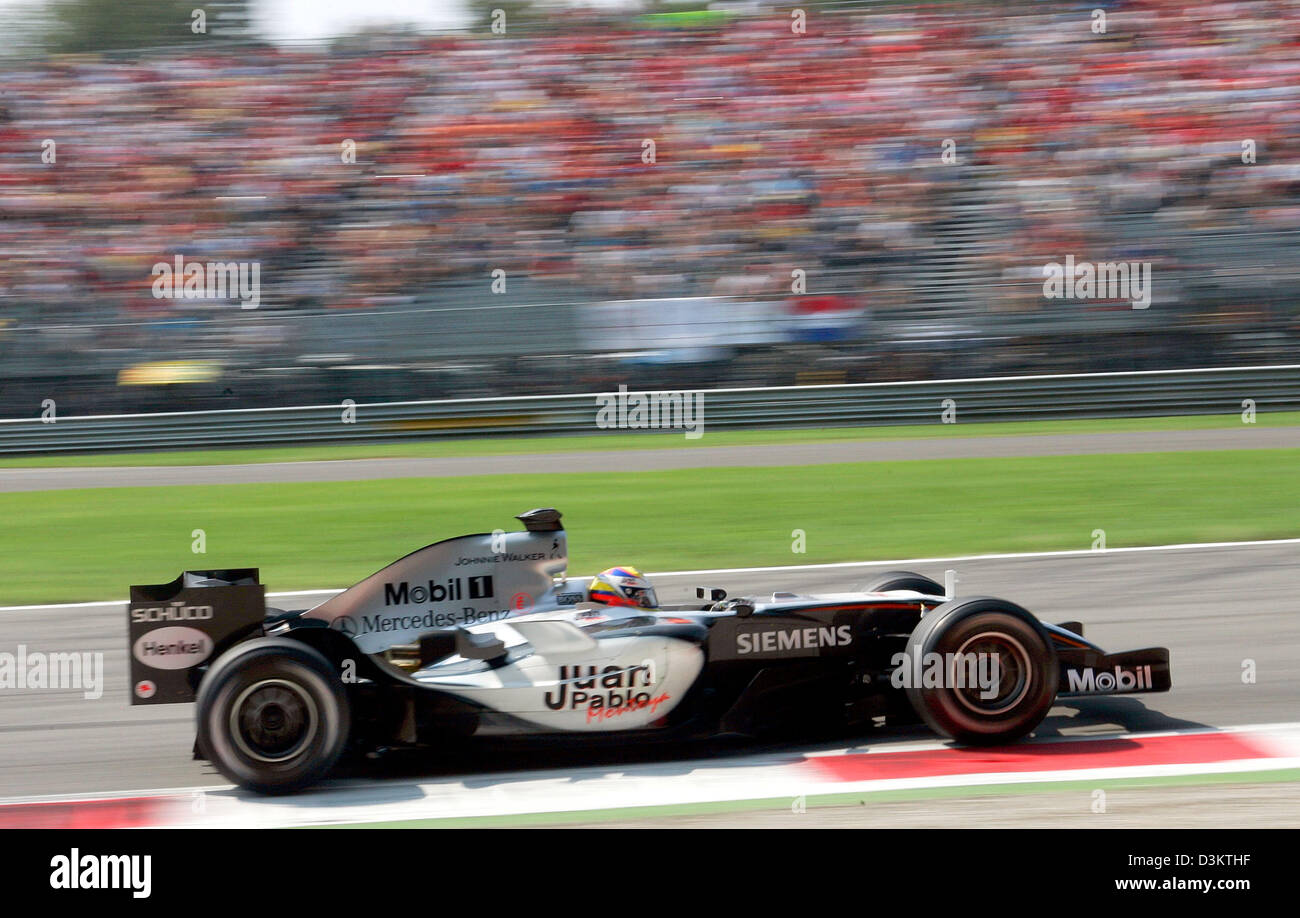 juan pablo montoya mclaren mercedes stockfotos juan. Black Bedroom Furniture Sets. Home Design Ideas