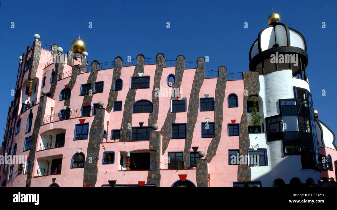 Architekt Magdeburg dpa das bild zeigt österreichische künstler und architekt