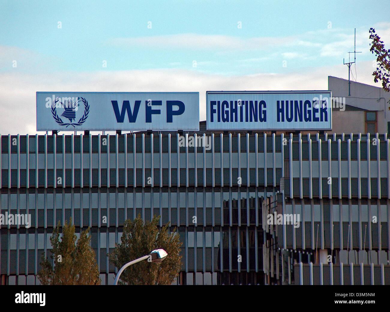 Dpa Das Bild Zeigt Das Hauptquartier Der Vereinten Nationen Un World Food Programme Wfp In Rom Italien 23 November 2005 Das Gemeinsame Nahrungsmittelhilfeprogramm Der Uno Und Der Ernahrung Und Landwirtschaftsorganisation Fao
