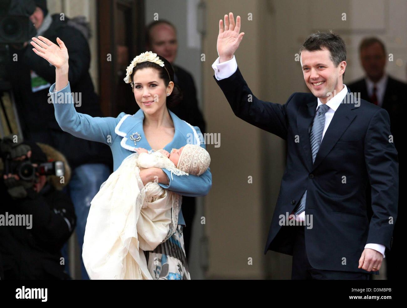 Danish Crown Prince Frederik R Und Seine Frau
