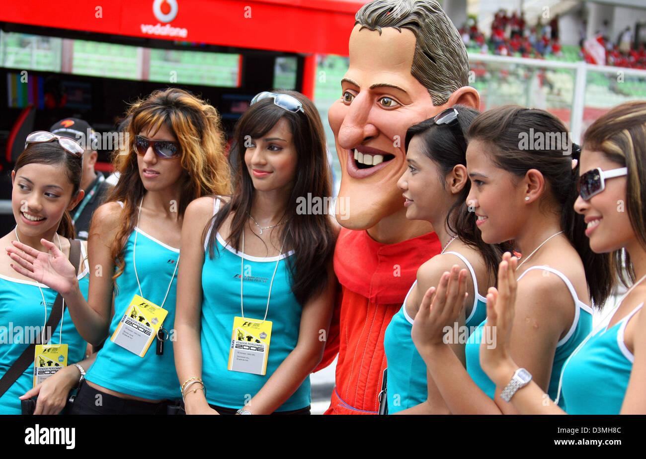 Michael Schumacher Grid Girl Finland