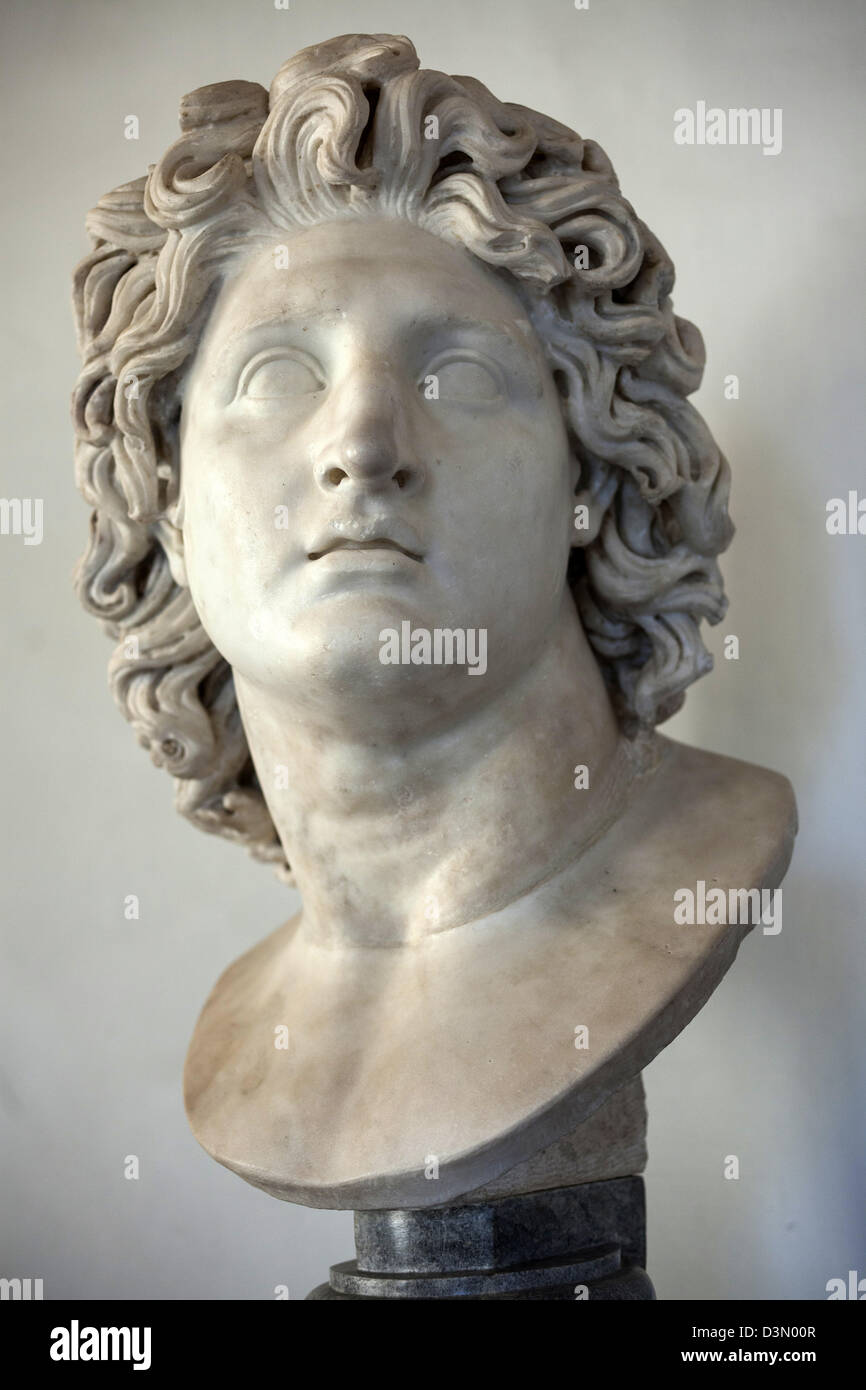 Antike Romische Skulpturen Im Kapitolinischen Museum In Rom Italien Stockfotografie Alamy