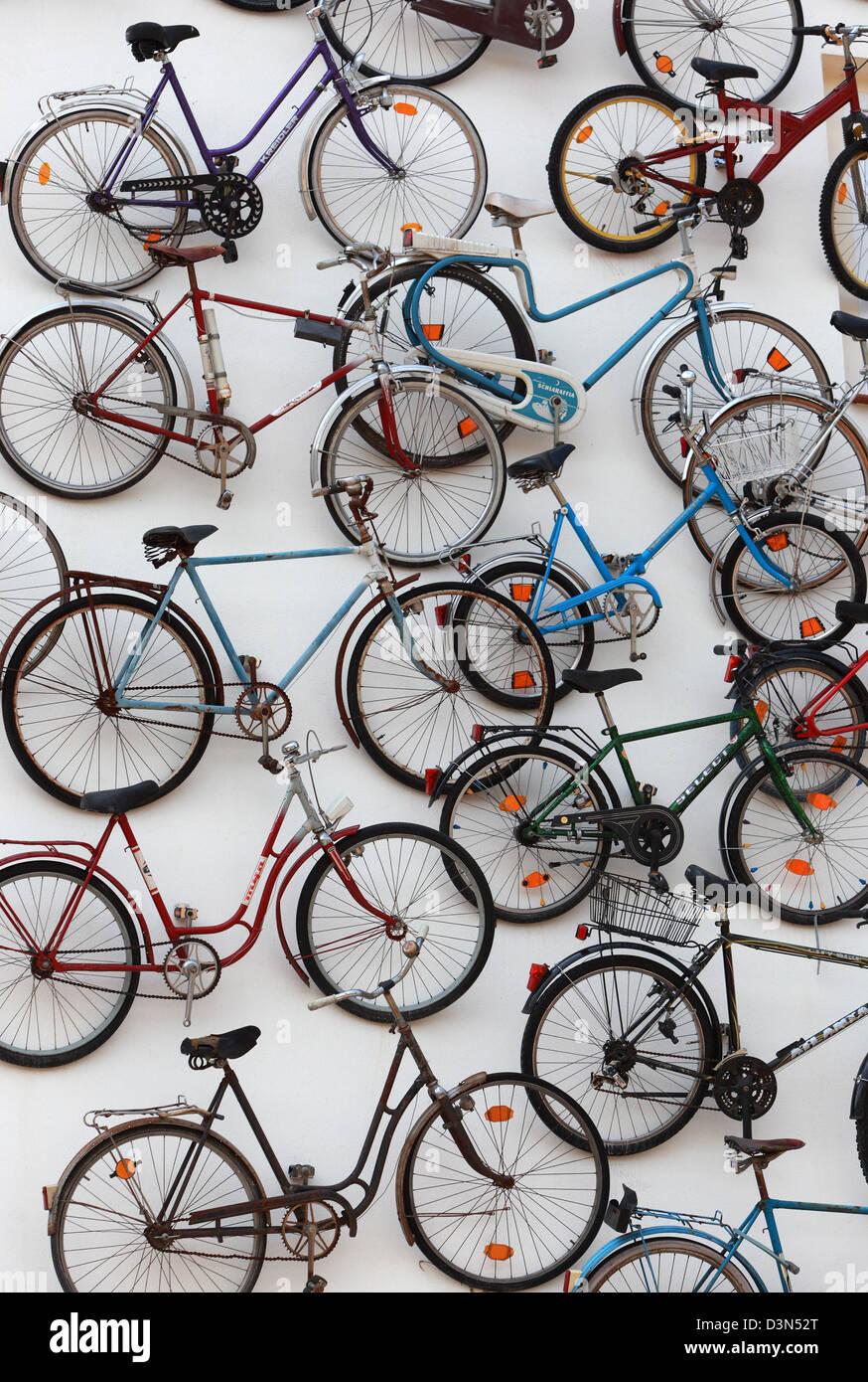 Fahrradhof Altlandsberg Stockfotos Fahrradhof Altlandsberg Bilder