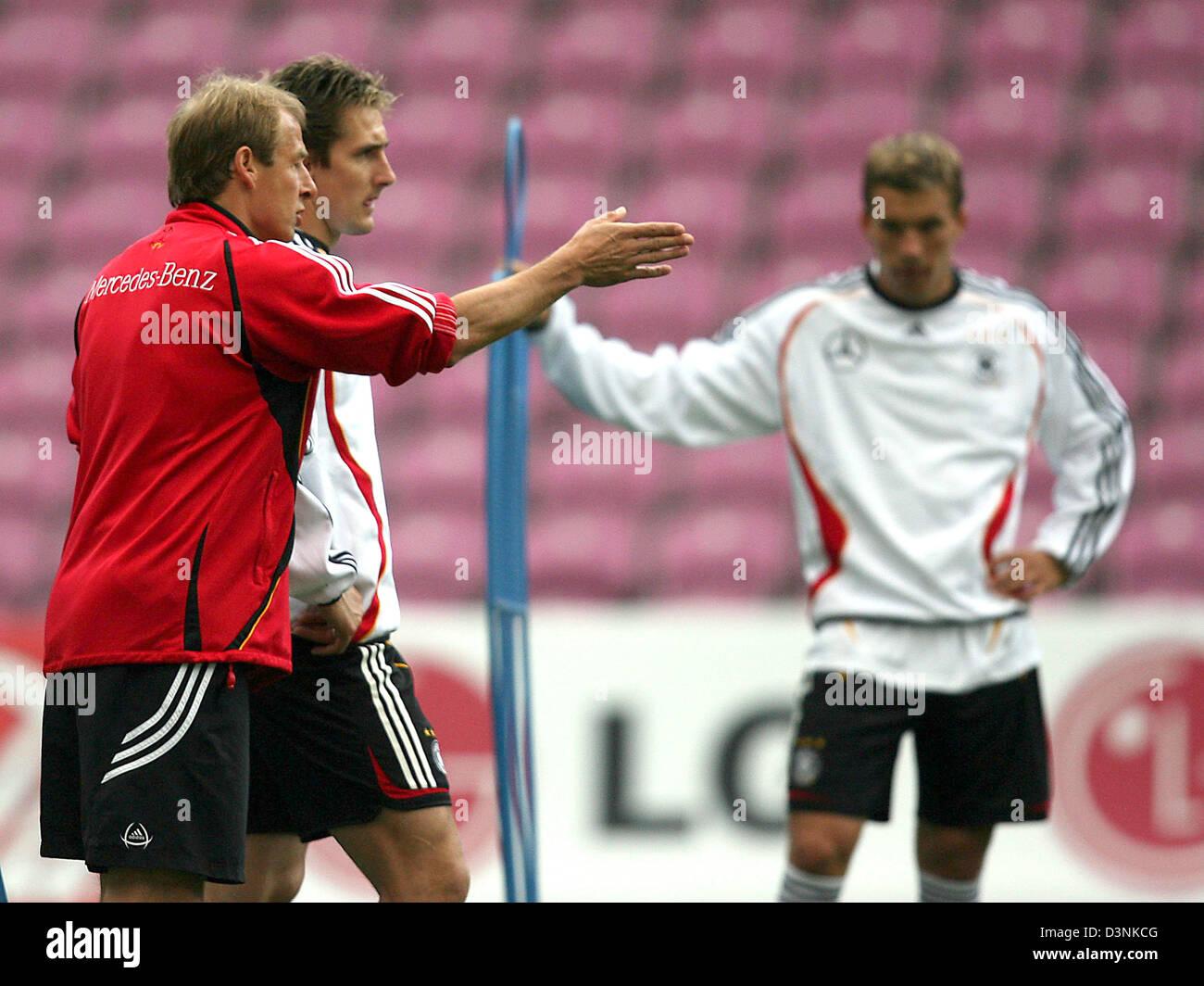 Jurgen Klinsmann L Trainer Der Deutschen Fussball