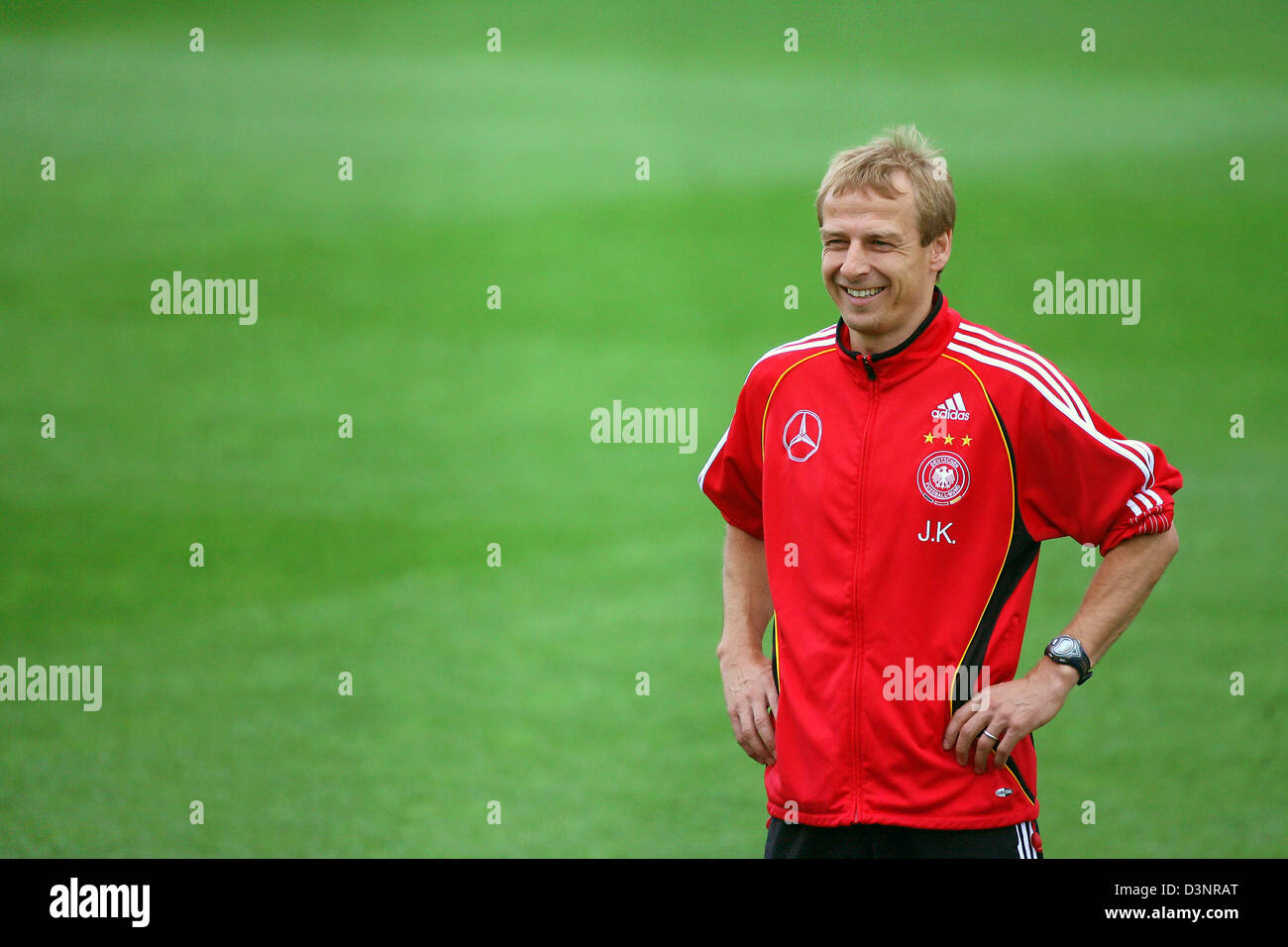 Deutscher Fussball Trainer Juergen Klinsmann Bei Der Team