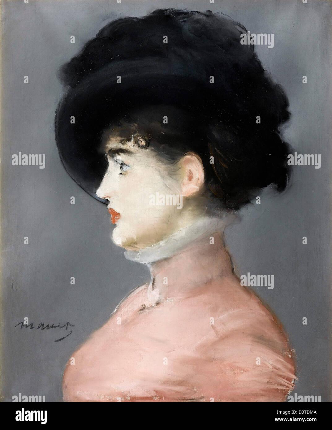 Edouard Manet, Irma Brunner 1880 Pastell. Musée d ' Orsay, Paris Stockbild