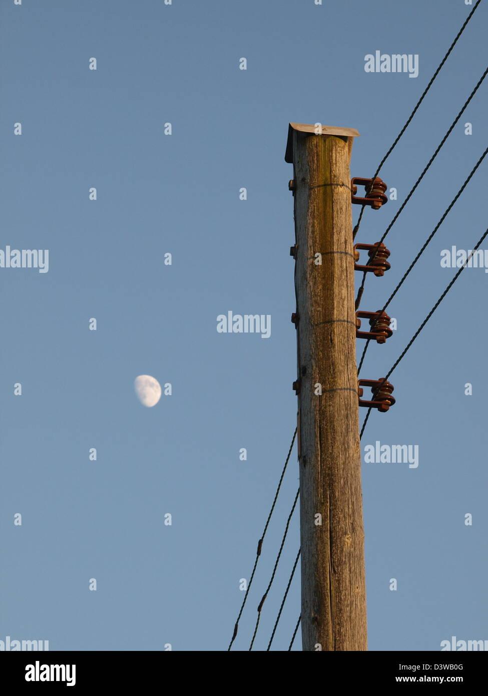 Single Wire Telegraph Stockfotos & Single Wire Telegraph Bilder - Alamy
