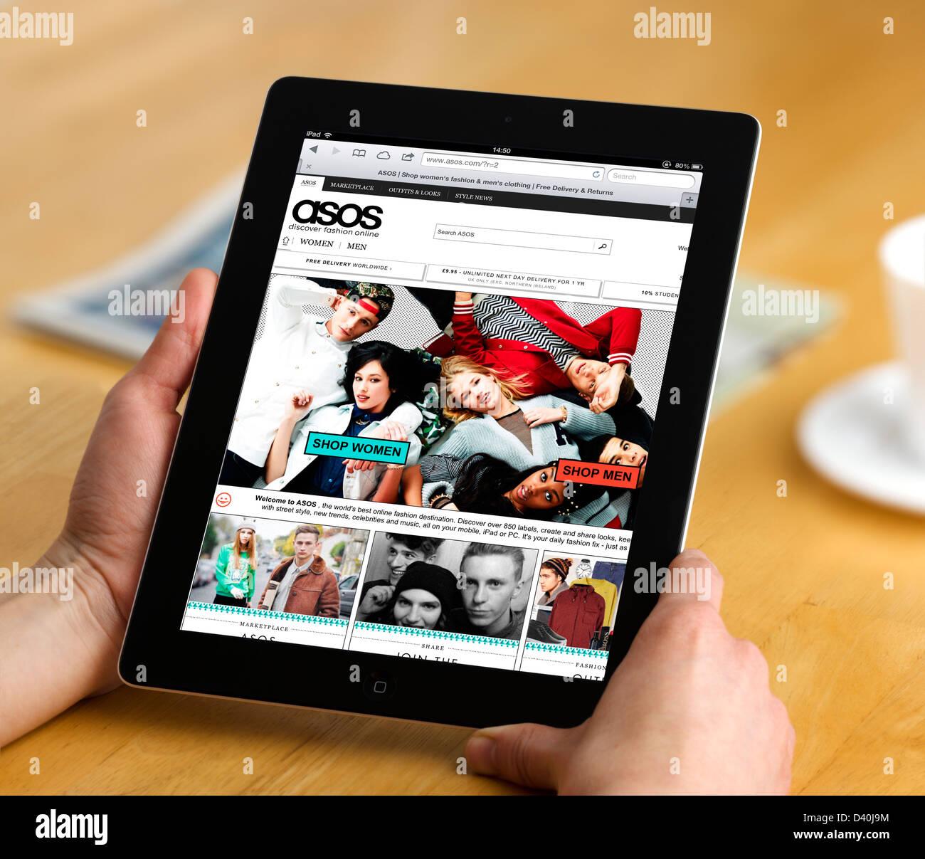 das beliebte online shopping website auf eine 4 generation apple ipad tablet computer. Black Bedroom Furniture Sets. Home Design Ideas
