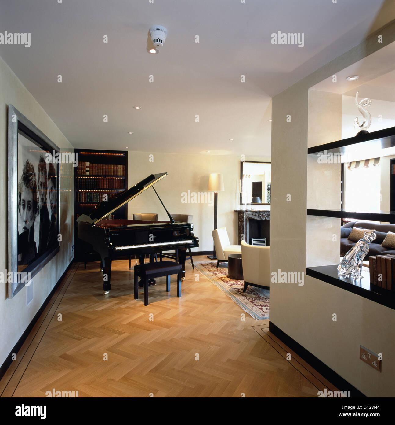fl gel im wohnzimmer im modernen stadtwohnung mit. Black Bedroom Furniture Sets. Home Design Ideas