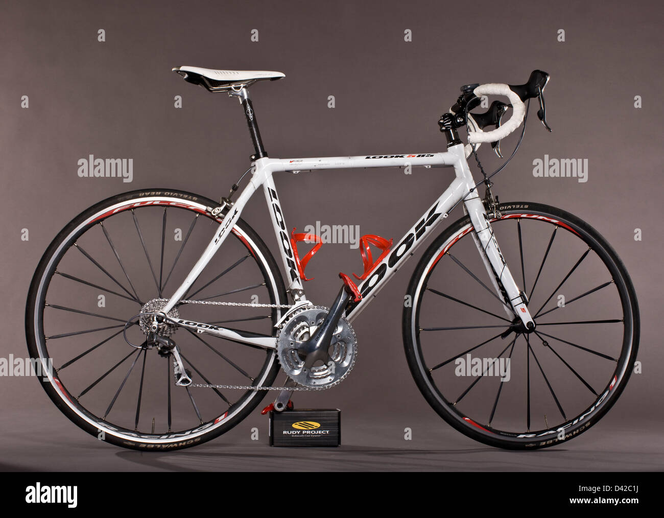 Look 585 custom-Bike mit Carbon-Faser-Rahmen Stockfoto, Bild ...