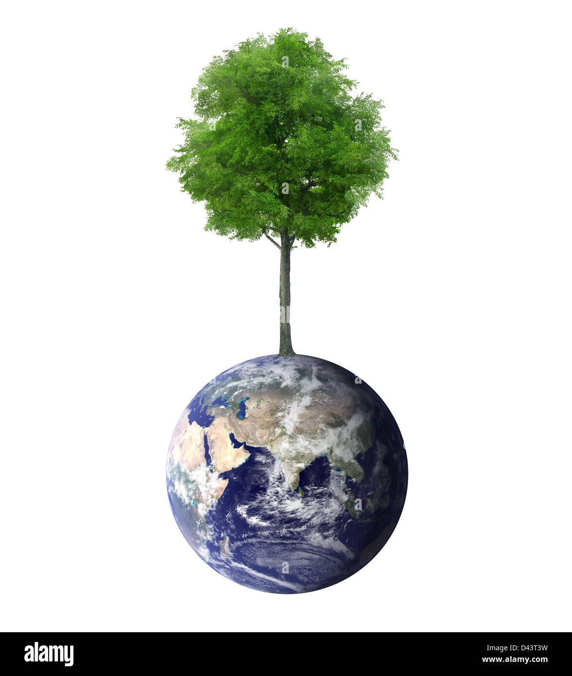 Schützen Sie die Umwelt-Konzept Stockbild