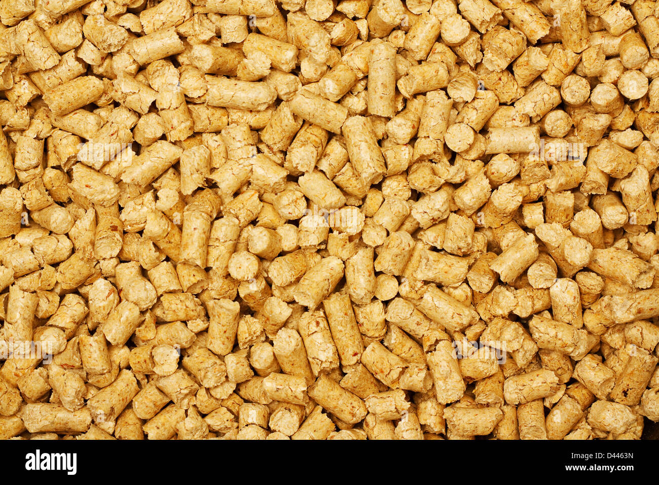 Biokraftstoff-Holzpellet-Hintergrund in Biomasse-Heizkessel als eine ...
