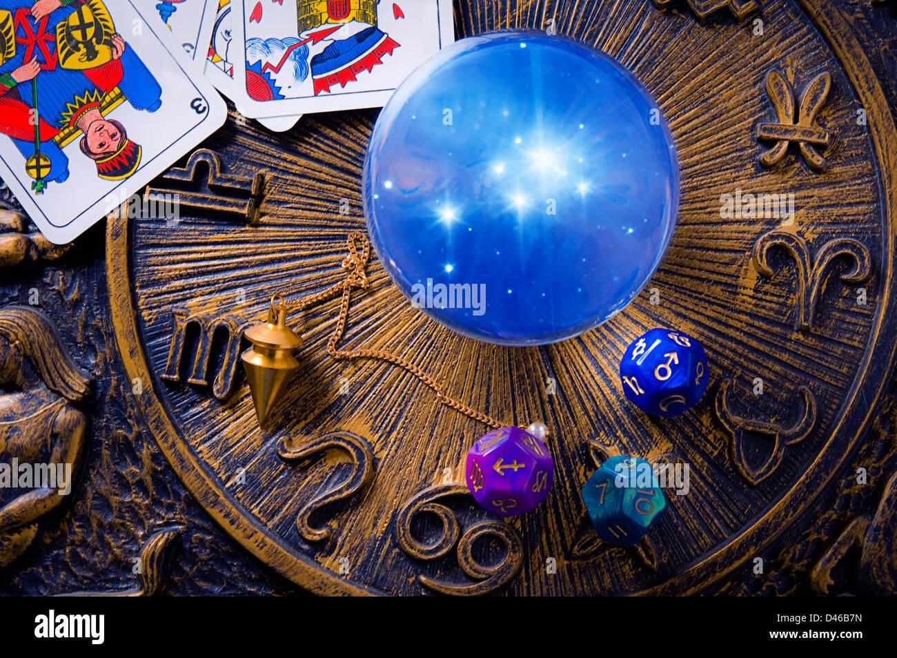 esoterische und okkulte Konzept Stockbild
