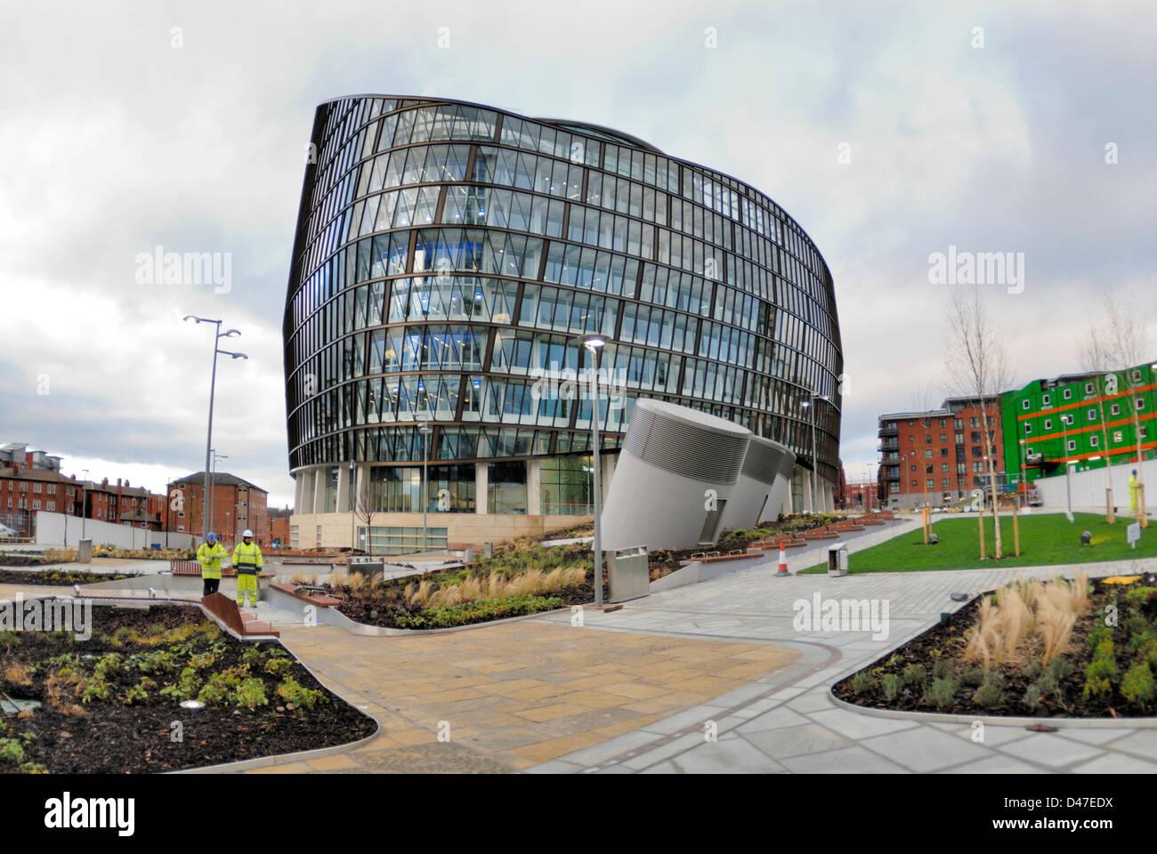 Manchester-Genossenschaften neue zentrale, 1 Angel Square. Ein ...