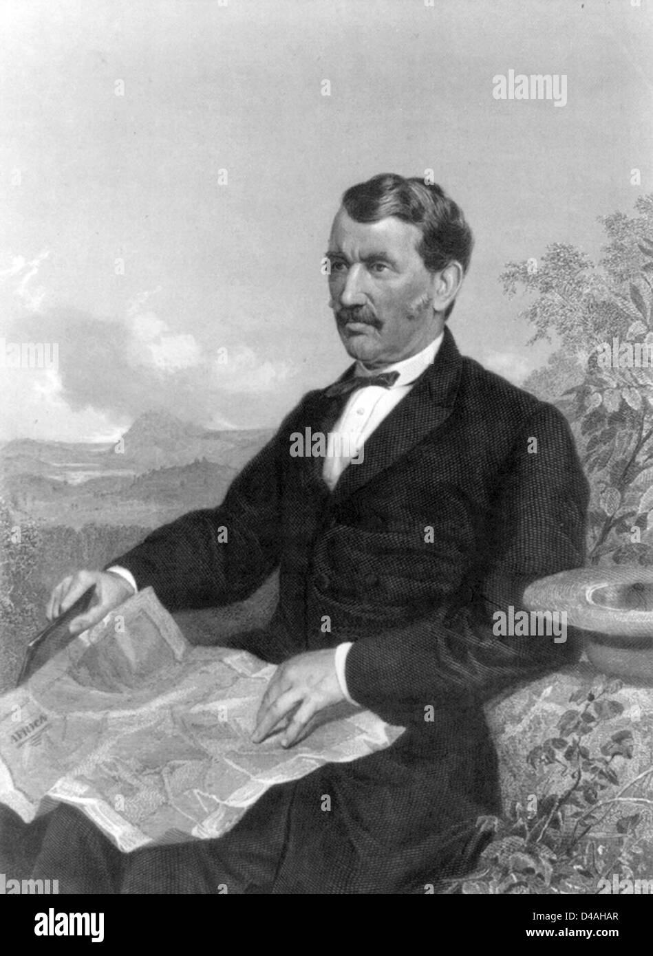 David Livingstone, Schottischer Kongregationalistisch Pionier Medizinischer  Missionar Und Ein Forscher In Afrika.