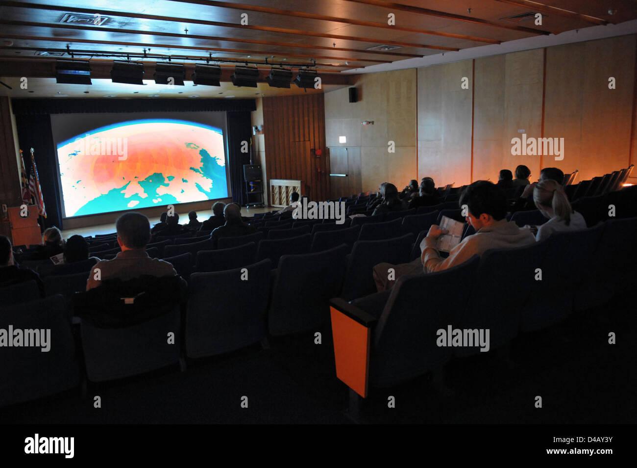 Goddard FilmFest 2010 Stockbild