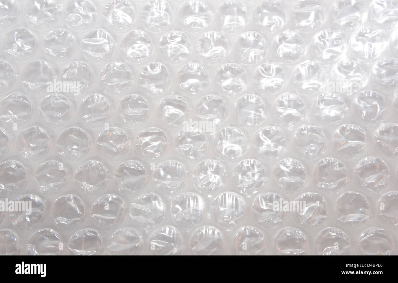 Bubble Wrap Folie Makro Stockfoto Bild 54348846 Alamy