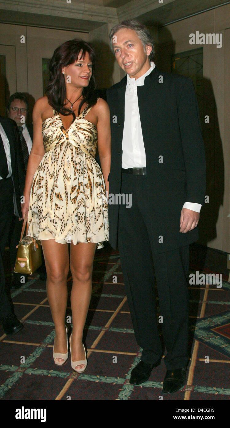 Deutsche pop-Sängerin Andrea Berg und ihr Ehemann Uli ...