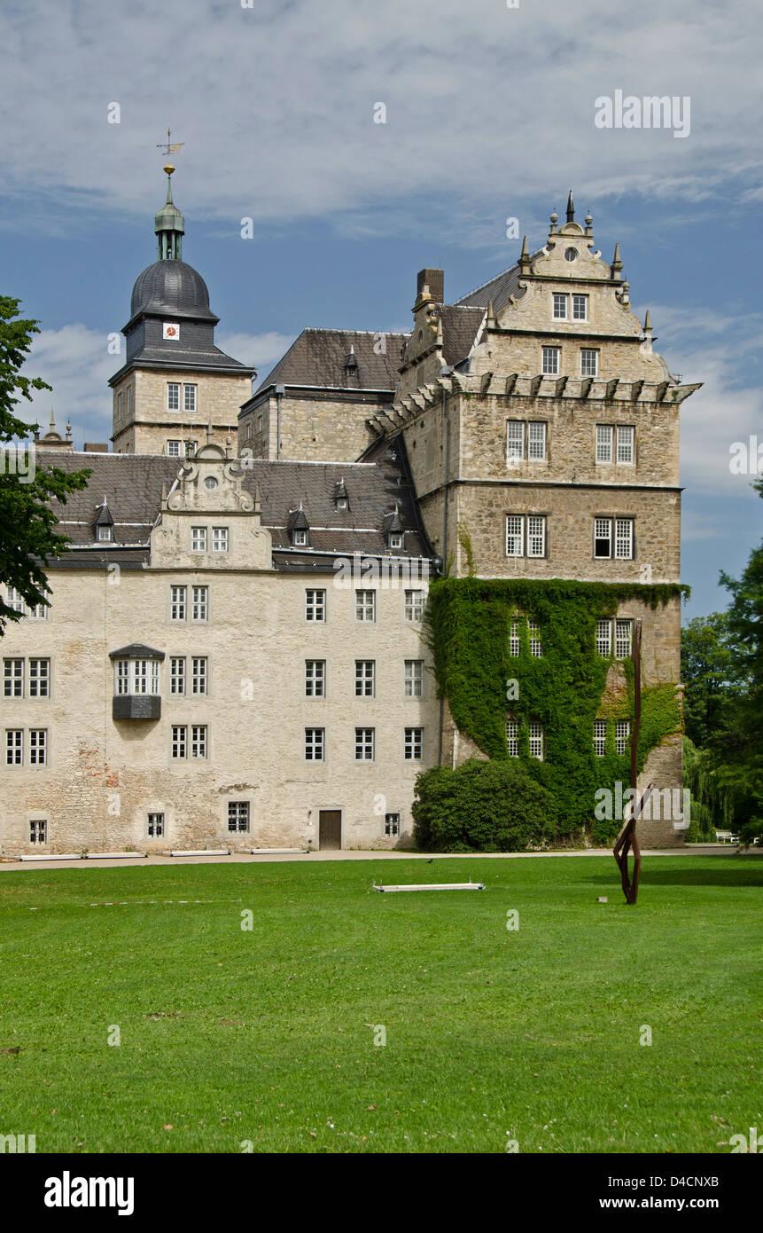 Schloss Wolfsburg, Niedersachsen, Deutschland Stockbild