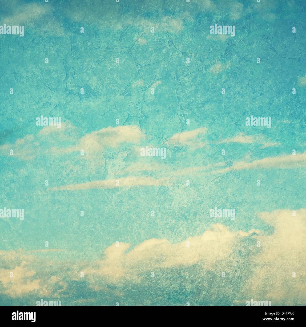 strukturierte blauer Himmel Stockbild