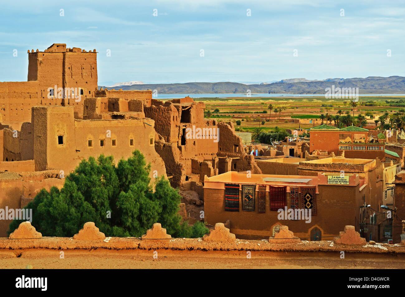 Kasbah Taourirt, Ouarzazate, Marokko, Nordafrika Stockbild