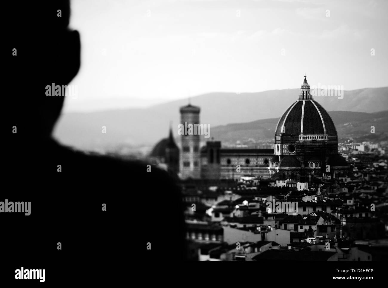Florenz. Panorama Stockbild
